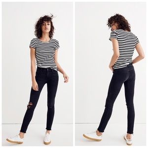 Madewell || High Rise Destroyed Skinny Jeans 31
